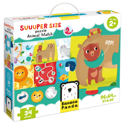 Banana Panda Suuuper Size Puzzle Animal Match