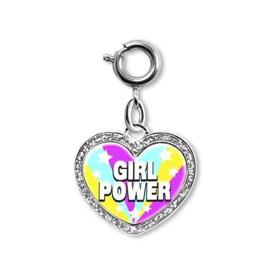 Charm It Girl Power! Heart Charm