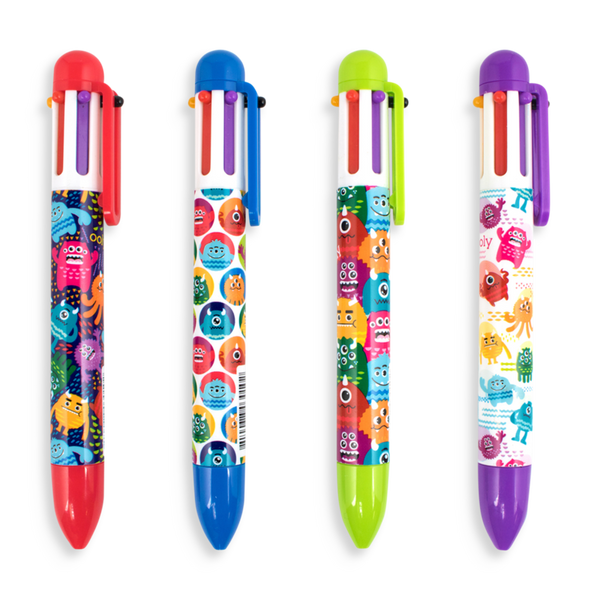 Ooly Monster 6-Click Multi Color Pen