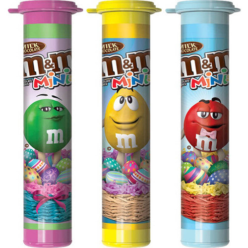 M & M Mini Easter Candy Tube