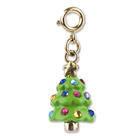 Charm It Gold Christmas Tree