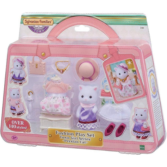 Calico Critters Fashion Play Set - Sugar Sweet Collection Persian Cat