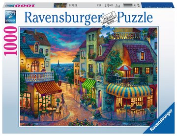 Ravensburger Puzzle 1000 Piece An Evening in Paris
