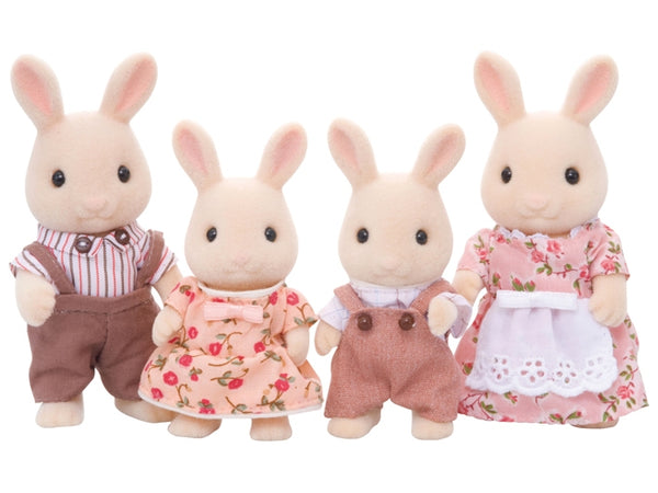 Calico Critters Sweetpea Rabbit Family