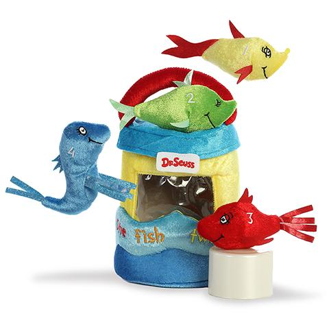 Aurora Dr. Seuss - Fish Playset Carrier