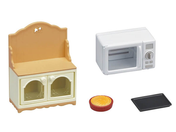 Calico Critters Microwave Cabinet