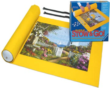 Ravensburger Puzzle Stow and Go: Perfect Puzzle Accessory