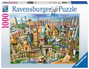 Ravensburger Puzzle 1000 Piece World Landmarks
