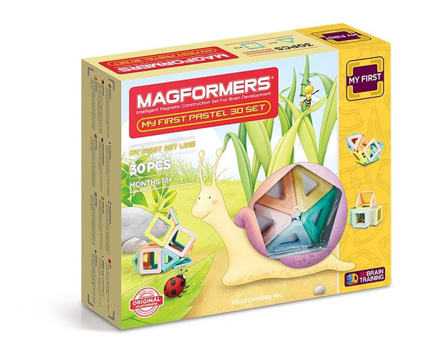 Magformers My First Pastel 30 Piece Set