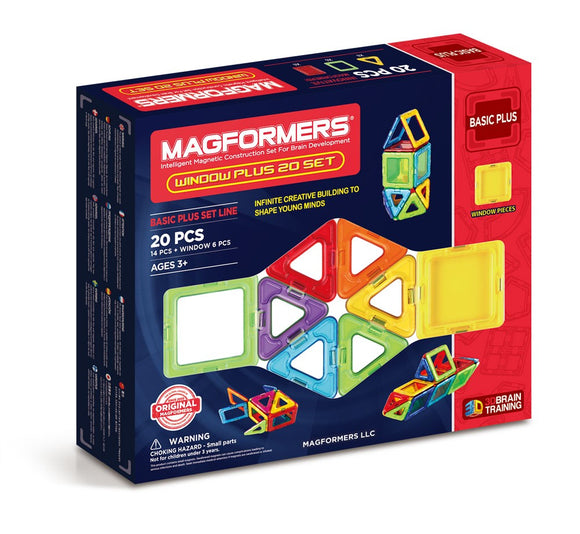 Magformers Window Plus 20 Piece Set