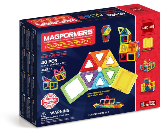 Magformers Window Plus 40 Piece Set