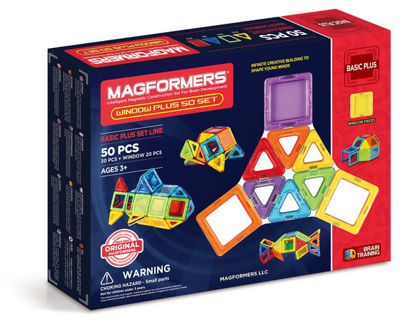 Magformers Window Plus 50 Piece Set