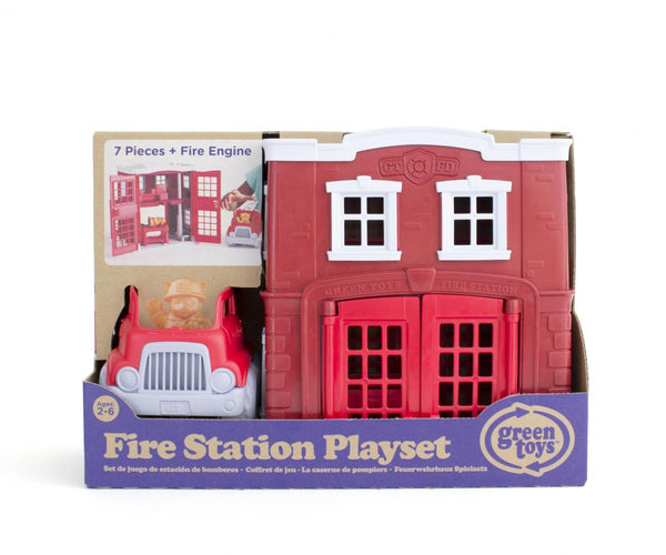 Green Toys Playset Fire Station
