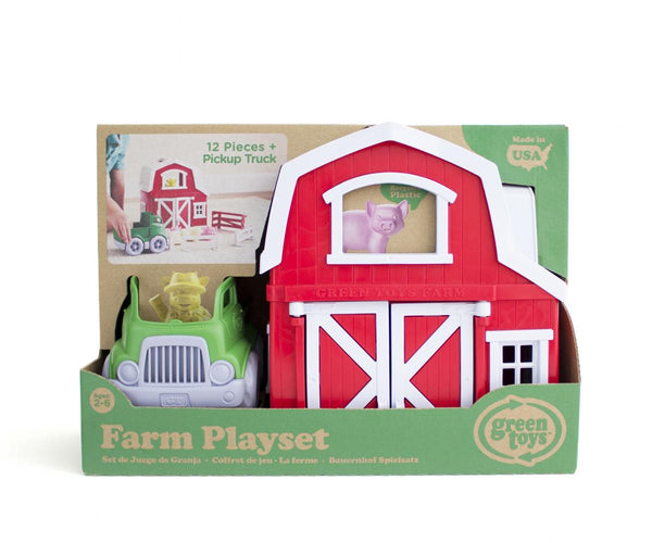 Green Toys Playset Farm