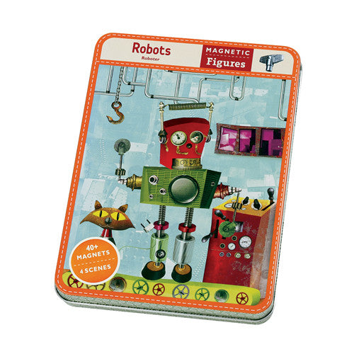 Mudpuppy Magnetic Figures - Robots