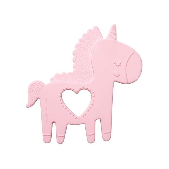 Manhattan Toy Silicone Teether Petals Unicorn