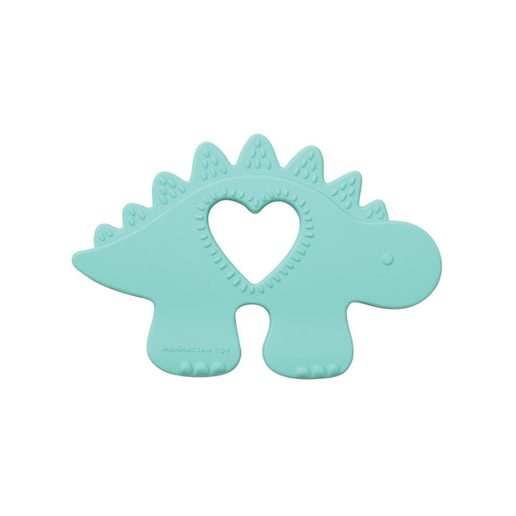 Manhattan Toy Silicone Teether Chomp Stegosaurus