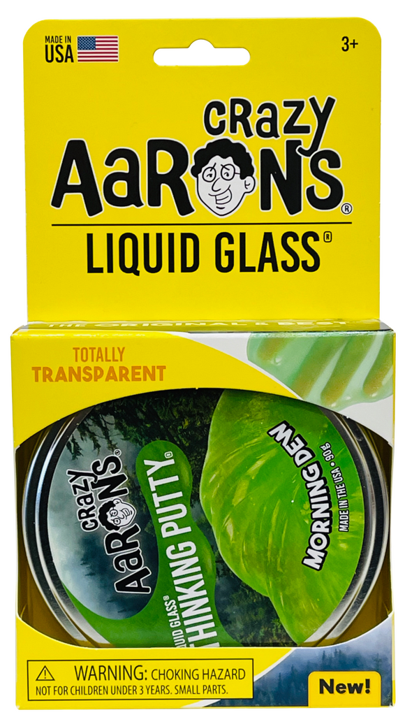 Crazy Aaron's Thinking Putty Liquid Glass - Morning Dew