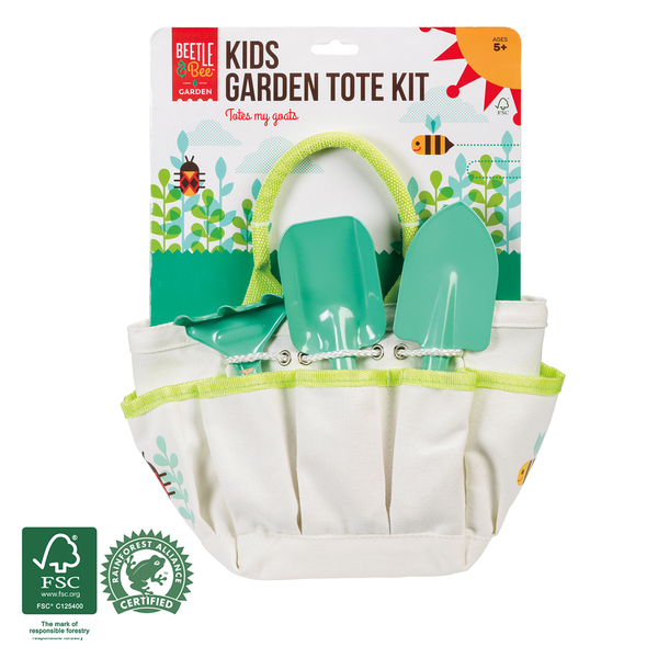Beetle & Bee Garden - Kids Garden Tote Kit