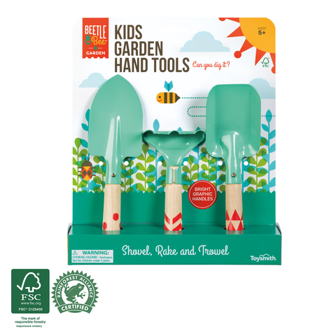 Beetle & Bee Garden - Kids Garden Hand Tools