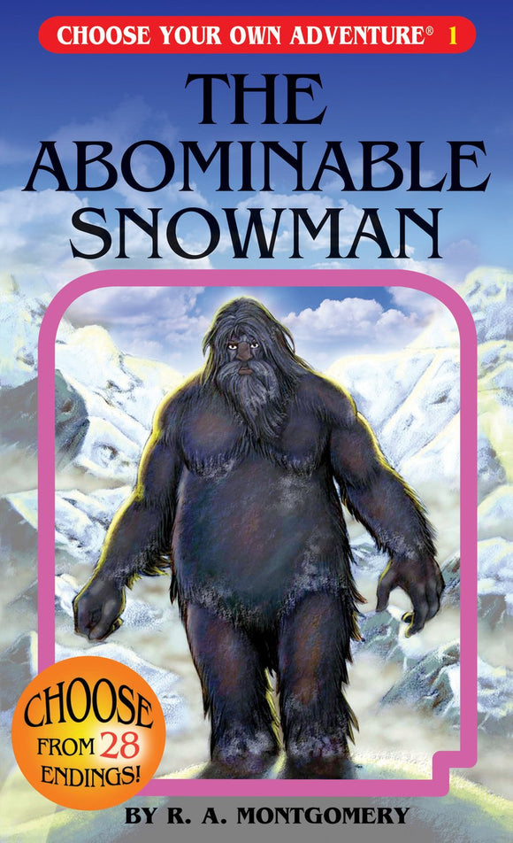 Choose Your Own Adventure: The Abominable Snowman