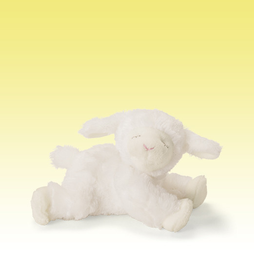babyGUND Winky Lamb Mini Rattle