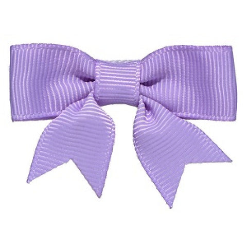 No Slippy Hair Clippy Emily Grosgrain Baby Bow Lavender