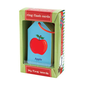 Mudpuppy Ring Flash Cards - My First Words