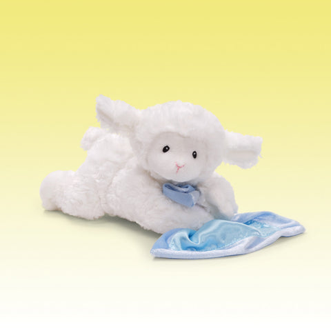 babyGUND Lena Lamb - Blue Prayer Blankie