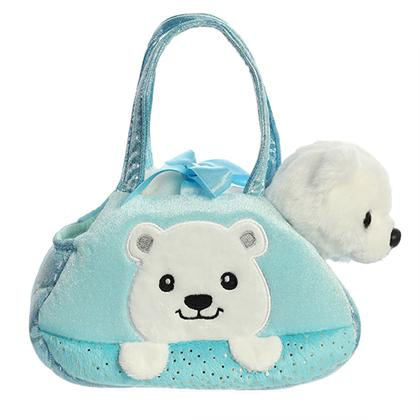 Aurora Fancy Pals Peek-A-Boo Polar Bear
