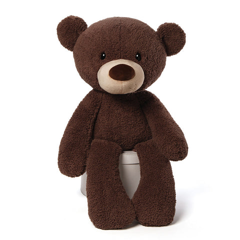 Gund Fuzzy Bear Chocolate Jumbo