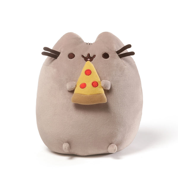 Pusheen with Pizza 9.5""