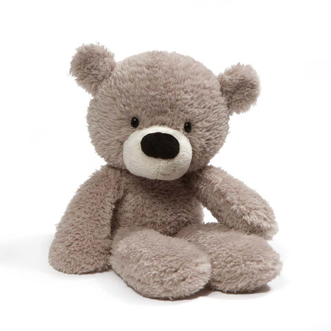 Gund Fuzzy Bear Gray