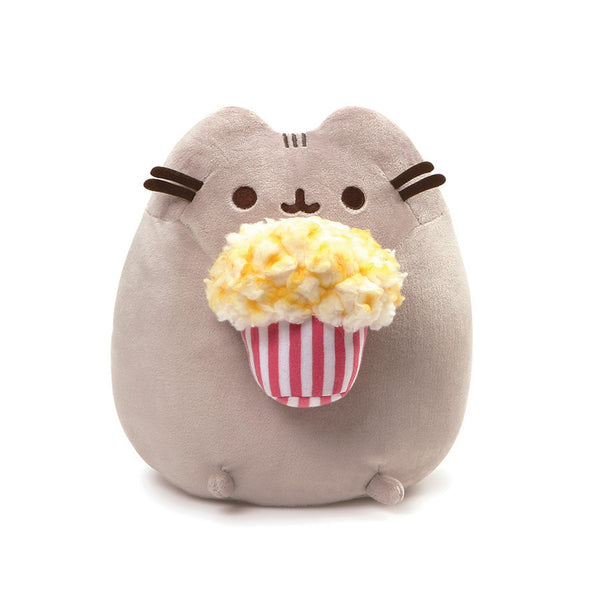 Pusheen with Popcorn Plush 9.5""