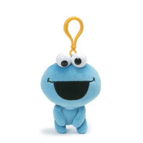 Sesame Street Cookie Monster Emoji Backpack Clip