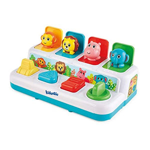 Kidoozie Pop n Play Animal Friends