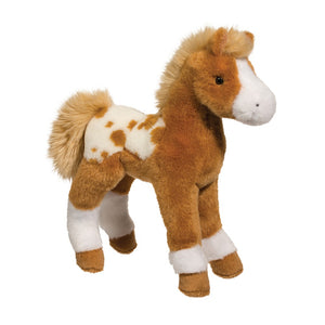 Douglas Freckles Golden Appaloosa Foal 10""