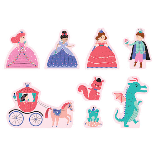 Mudpuppy Puzzle Play Set Enchanting Princess