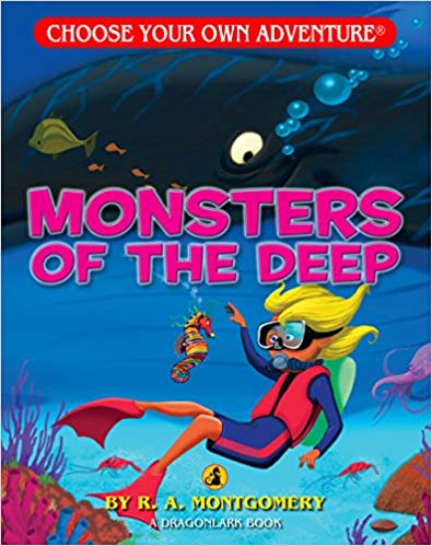 Choose Your Own Adventure Dragonlark Series: Monsters of the Deep
