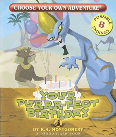 Choose Your Own Adventure Dragonlark Series: Your Purrr-Fect Birthday