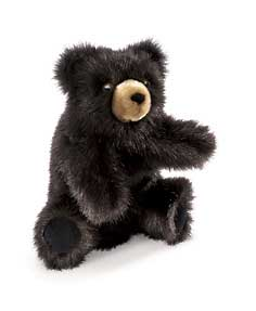 Folkmanis Baby Black Bear