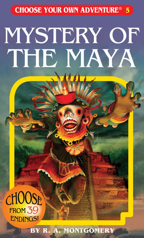 Choose Your Own Adventure: Mystery Of The Maya