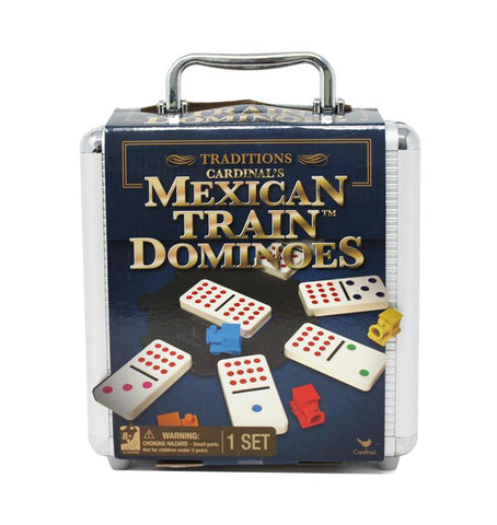 Cardinal Games Traditions Mexican Train Dominoes