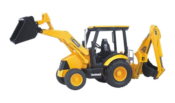 Bruder Midi Loader Backhoe
