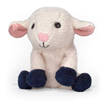 Apple Park Organic Cotton Finger Puppet – Lamby