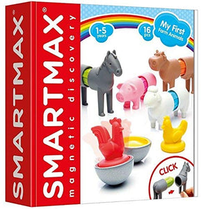 SmartMax My First Farm Animals 16 Pieces