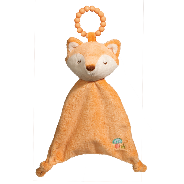 Douglas Baby Fox Teether Blankie