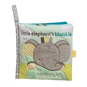 Douglas Baby Elephant Soft Activity Book