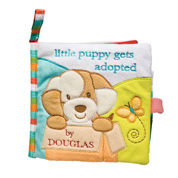 Douglas Baby Auggie Tan Puppy Soft Activity Book 6
