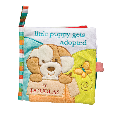 Douglas Baby Tan Dog Soft Activity Book